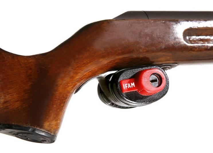 Verrou de pontet cadenas de blocage carabine pistolet arme a feu ou a gaz arme de tir fusil de chasse gunlock ifam copie