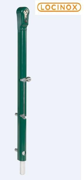 Verrou de sol antivol a cle locinox pour portail porte et grille