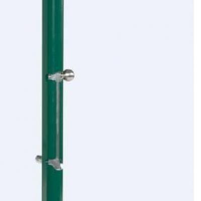 Verrou de sol en ANTIVOL applique à clé LOCINOX KEYDROP ALUMINIUM pour portail porte et grille GRIS ALU