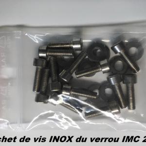 Vis inox de verrou 2321 imc antivol pour utilitaire copie